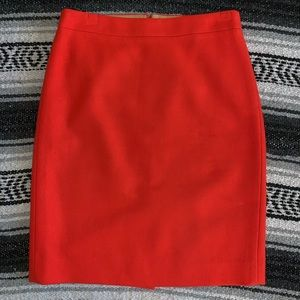 J.Crew Wool Pencil Skirt